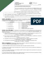 PRUEBA DE REVISIÓN MATERIA PENDIENTE DE BIOLOGIA 4TO AÑO