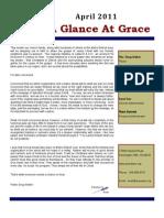 A Glance At Grace April 2011
