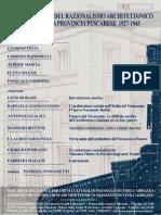 Declinazioni Razionalismo Pescara _manifesto 9 Aprile