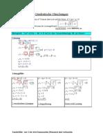 TH_Quadratische Gleichungen_Gurtner_WS03