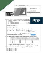 Exame RESOLVIDO Matematica 2017 I parte