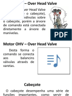 3 - Cabeçote Motor OHV – Over Head Valve