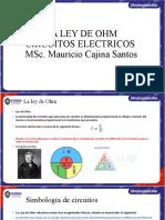 LEY DE OHM CIRCUITOS EN SERIE Y PARALELO