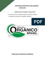 Desenvolvimento da Agricultura Familiar Orgânica
