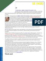 HSE - Business Informatics