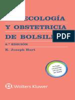 Ginecología y Obstetricia de Bolsillo Manual de Bolsillo Spanish Edition by K