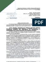 Rechazo alegaciones al reglamento del Consejo Municipal de Patrimonio Histórico