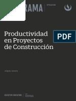 Brochure Productividad en Proyectos de Construccion 2021