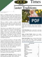 April 2011 ACS Newsletter