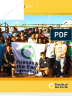 Friends of the Earth Annual Report 2010