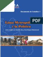 Lima Metropolitana y la Política(1)
