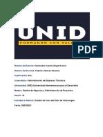 Tarea 10 de la Materia de Gestión de Negocios y Administración de Proyectos