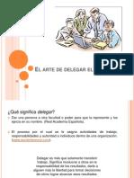 El arte de delegar el trabajo presentacion
