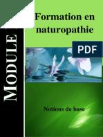 Module 1 Formation en naturopathie - Notion de base