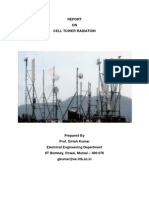 Brief Report on Cell Tower Radiation