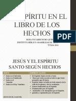 ESPIRITU SANTO EN EL LIBRO DE LOS HECHOS