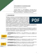 501 2019 - MUN DIST DE QUINJALCA - OBRA AGUA POTABLE