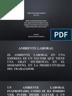 Ambiente Laboral