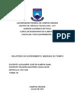 Relatório de Física experimental 1
