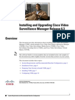 Installing and Upgrading Cisco Video Surveillance Manager (VSM) Release 6.3