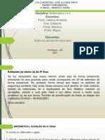 Atividade nono - (03 AGO - 09 AGO)