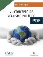 Luis Oro Tapia - El Concepto de Realismo Político-RIL Editores (2013)
