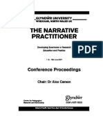 The Narrative Practitioner Conference Proceedings 2007(45)