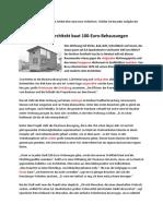 Lesen Teil 3 Berliner Architekt Detailverstehen B2