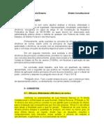 TRABALHO DE DIREITO CONSTITUCIONAL