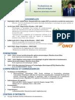 CV mustapha mecatronique safi