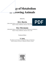 Biology of Metabolism in Growing Animals
