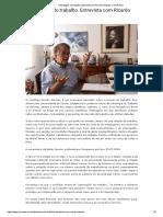 'Uberização' do trabalho. Entrevista com Ricardo Antunes. _ Ary Ramos
