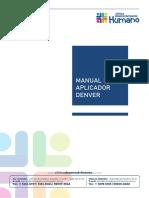 Manual Denver - Clínica Desenvolvimento Humano