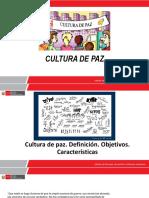 Módulo I - Cultura de Paz