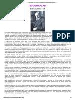 Edmund Husserl - Sociedade de Pesquisa Qualitativa em Motricidade Humana