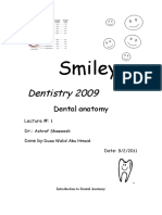 Dental Notation Systems