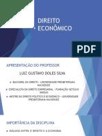DIREITO ECONÔMICO - AULA 1