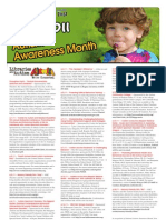 Autism Awareness Month Calendar