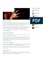 Stress - definição, causas, sintomas, tipos crónico, burnout