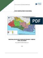 regionalizacion de caudales