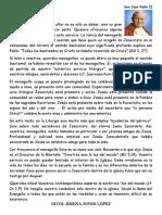 CARTA DE SAN JUAN PABLO II A LOS MONAGUILLOS