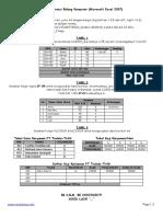 Lampiran Uji Kompetensi Ms Excel