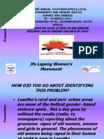 Prevention Ifo Lapeng Women's Movement Mm 270311