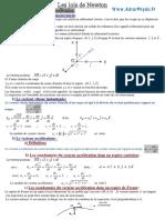 Cours 1 . Les lois de Newton (Www.AdrarPhysic.Fr)