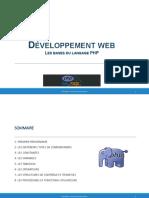 Cours - Developpement Web
