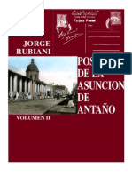POSTALES DE LA ASUNCION DE ANTAÑO - JORGE RUBIANI - VOLUMEN II - PortalGuarani.com