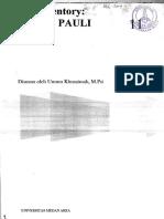 Diktat_Ummu Khuamizah_Tes Inventory EPPS Dan PAULI
