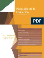 Contexto general de la Psicología de la Educación