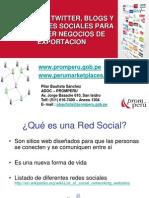 2 Facebook, Twitter, Blogs y Otras Redes Sociales Para Promover Un Negocio