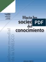 11 Hacia Las Sociedades Del Conocimeinto UNESCO